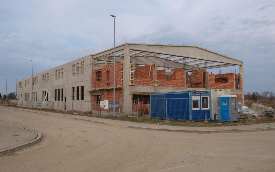 Izgradnja proizvodne hale – proizvodnja i pakirnica voćnih čajeva