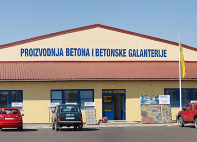 Izgradnja hale za proizvodnju betonske galanterije investitora Nikola d.o.o.