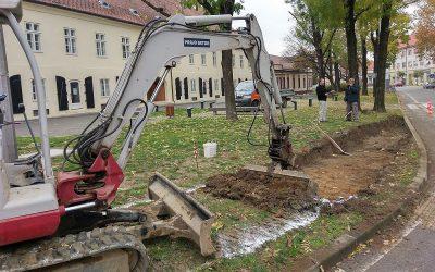 U tijeku su radovi na uređenju biciklističkog prometa u središtu Virovitice