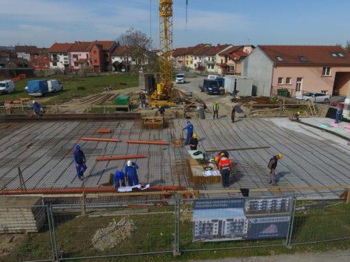 Izgradnja stambene zgrade u centru Virovitice